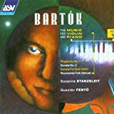bartok - music for violin and piano - stanzeleit + fenyo CD 1993 ASV used mint