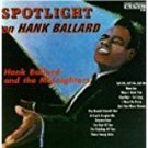 hank ballard - spotlight CD 1987 king highland 12 tracks used mint