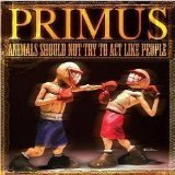 primus - animals should not try to act like people CD + DVD 2003 interscope used mint