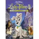 lady and the tramp II - scamp's adventure DVD 2001 disney 70 minutes used mint