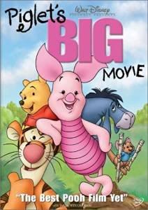 piglet's big movie DVD 2003 disney used mint