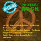 best of 60's & 70's rock - protest rock CD 1992 priority 9 tracks used mint