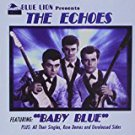 the echoes - baby blue CD 2000 blue lion 29 tracks used mint
