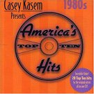 casey kasem presents america's top hits the 80s - various artists CD 2001 top sail 20 tracks used