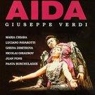 verdi - aida - maria chiara + lucino pavarotti DVD image 1999 160 mins used mint