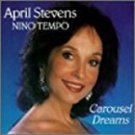 april stevens - carousel dreams CD 1990 USA music group 10 tracks used mint