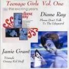 diane ray + janie grant - teenage girls vol. one CD 1995 star 32 tracks used mint
