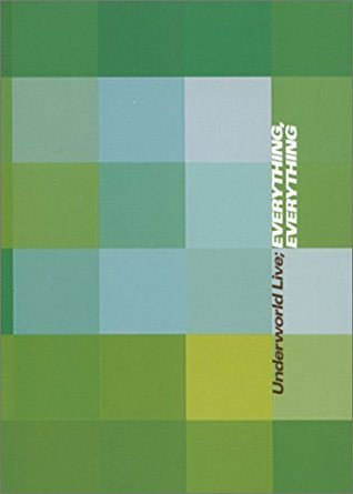 underworld live - everything everything DVD 2000 JBO 9 tracks used mint