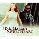jermaine dupre + mariah carey - JD & mariah sweetheart CD single 4 cuts 1998 columbia used mint