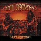pat travers - p. t. power trio CD 2003 shrapnel blues bureau 10 tracks used mint