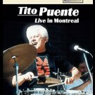 tito puente - live in montreal DVD 2012 image entertainment 8 tracks used mint