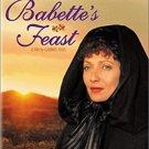 babette's feast - Stéphane Audran + Bodil Kjer, Gabriel Axel Director DVD 2001 MGM used