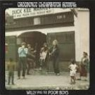 creedence clearwater revival - willy and the poor boys CD fantasy 10 tracks used mint