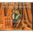 Metropolitan Opera Historic Broadcasts The First Texaco Season 1940-41 Highlights 2CDs 2001