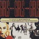 elvis costello - girls girls girls CD 2-discs 1990 columbia CBS 47 tracks used mint
