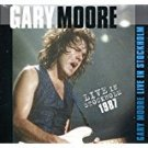 gary moore - live in stockholm 1987 CD 2011 immortal 9 tracks used mint