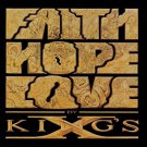 king's x - faith hope love CD 1990 megaforce atlantic 13 tracks used mint