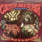 country joe & the fish - electric music for the mind and body CD 1987 vanguard used mint