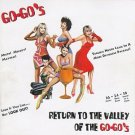 go-go's - return to the valley of the go-go's CD 2-discs 1994 IRS 36 tracks used mint