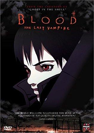 blood the last vampire DVD 2001 manga used mint