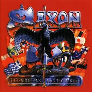 saxon - eagle has landed part II CD 2-discs 1998 CMC international BMG 17 tracks used mint