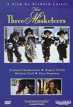 three musketeers - a film by richard lester DVD 1997 fox lorber 105 minutes used mint