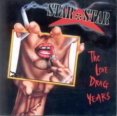 star star - love drag years CD 1992 roadrunner 10 tracks used mint