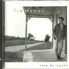 tim mensy - this ol' heart CD 1992 giant 10 tracks used