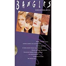 bangles - greatest hits VHS 1990 CBS 35 minutes 9 tracks used