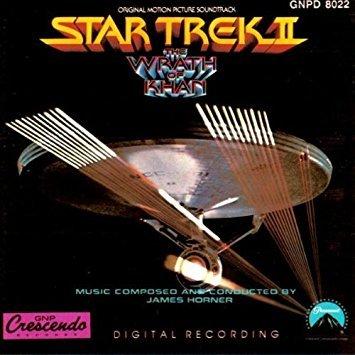 star trek II the wrath of khan - original motion picture soundtrack CD 1990 paramount crescendo used