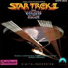 star trek II the wrath of khan - original motion picture soundtrack CD 1990 paramount crescendo used