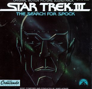 star trek III the search for spock - original motion picture soundtrack CD 1984 capitol used mint
