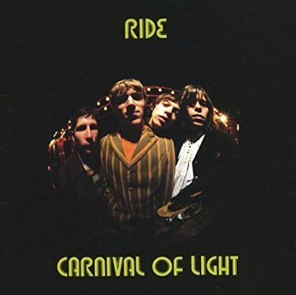 ride - carnival of light CD 1994 sire 12 tracks used mint