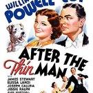 after the thin man - william powell + myrna loy DVD 2005 warner B&W 112 minutes used mint