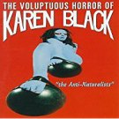 voluptuous horror of karen black - the anti-naturalists CD 1994 triple x records 11 tracks used mint