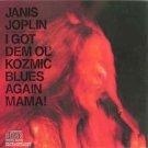 janis joplin - i got den ol' kozmic blues again mama! CD 1988 columbia 8 tracks used mint