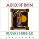 robert hunter live 1990 - a box of rain CD 1991 rykodisc 12 tracks used mint