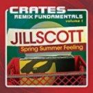 jill scott - crates remix fundamentals volume 1 CD 2012 hidden beach 11 tracks used mint