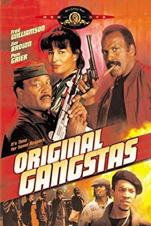 original gangstas - fred williamson + jim brown DVD 2000 MGM 99 mins used mint