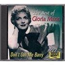 gloria mann - best of CD 2003 sound #1001 26 tracks used mint