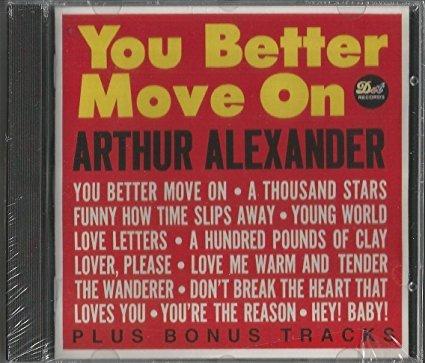 arthur alexander - you better move on CD 1993 MCA 20 tracks used mint