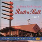 golden age of american rock n roll volume 3 - various artists CD 1994 ace UK 30 tracks used mint