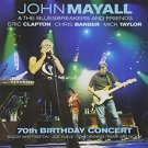 john mayall - 70th birthday concert CD 2-discs autographed 2003 eagle rock entertainment used mint