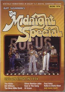 burt suarman's midnight special - more 1974 DVD 2006 guthy-renker new