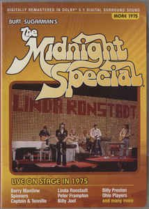 burt sugarman's midnight special more 1975 DVD 2007 guthy-renker new