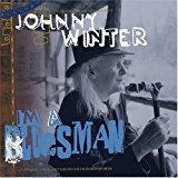 johnny winter - i'm a bluesman CD autographed 2004 virgin 13 tracks used mint