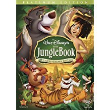 walt disney's jungle book - 40th anniversary platinum edition DVD 2-discs 2007 used mint