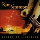 kim simmonds - struck by lightning CD autographed 2004 panache 12 tracks used mint