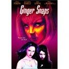ginger snaps - emily perkins + katharine isabelle DVD 2001 artisan 108 mins used mint