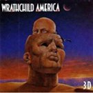 wrathchild america - 3-D CD 1991 atlantic 12 tracks used mint